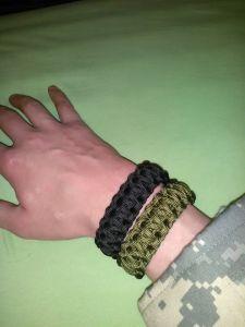 Paracord Bracelet Metallverschlu