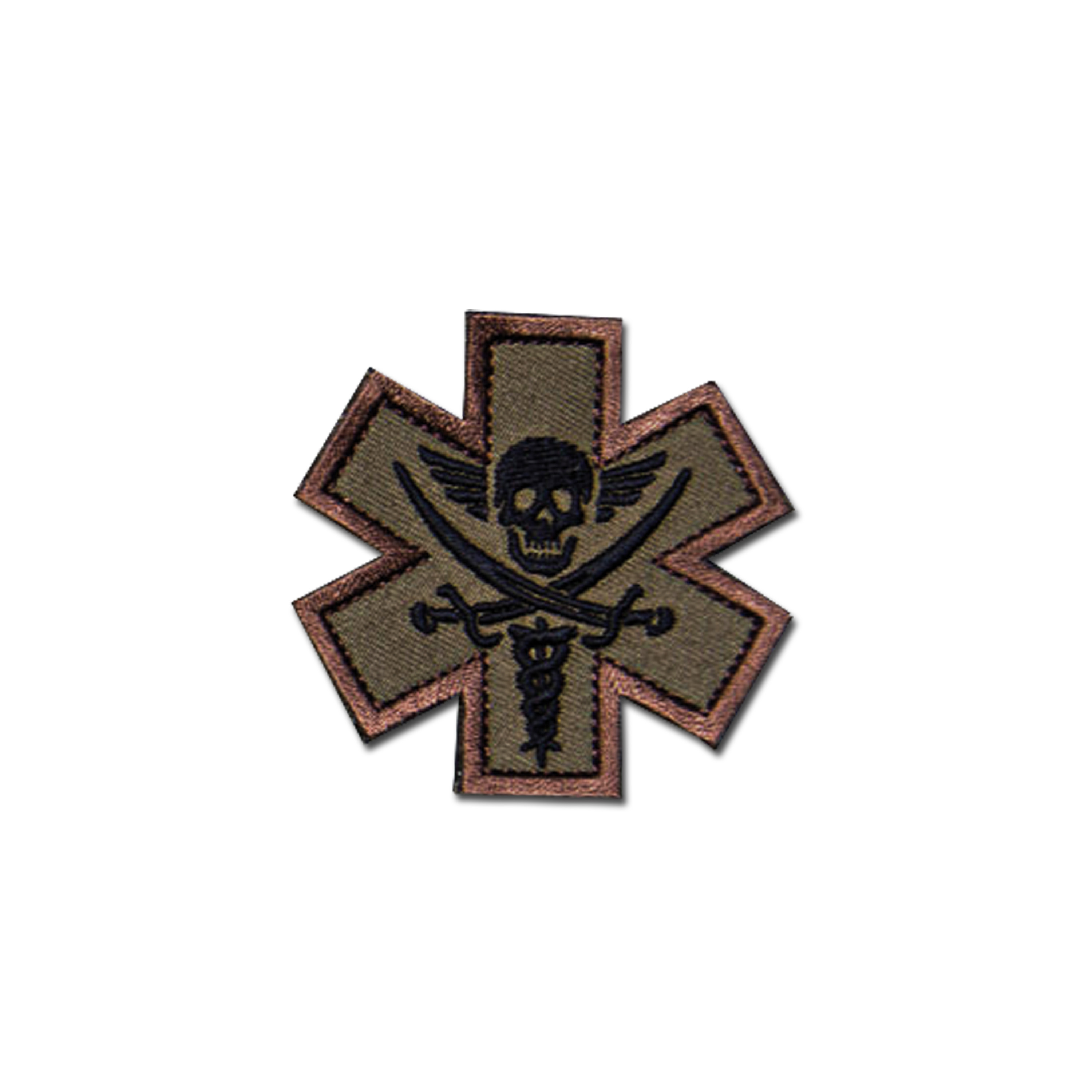 MilSpecMonkey Patch Tactical Medic Pirate forest