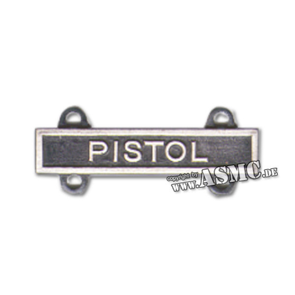 Abzeichen US Qual. Bar Pistol