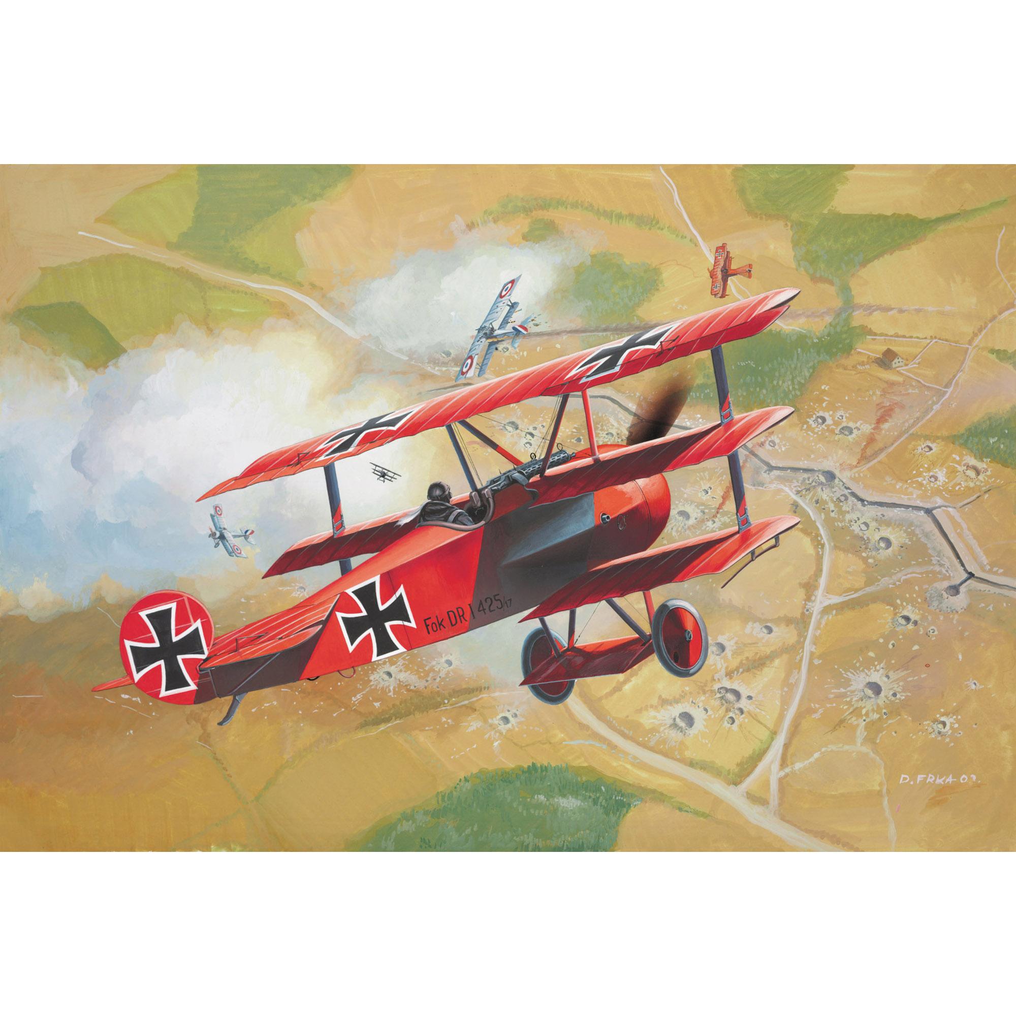 Revell Set Fokker Dr.1