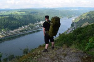 Hoch überm Rhein