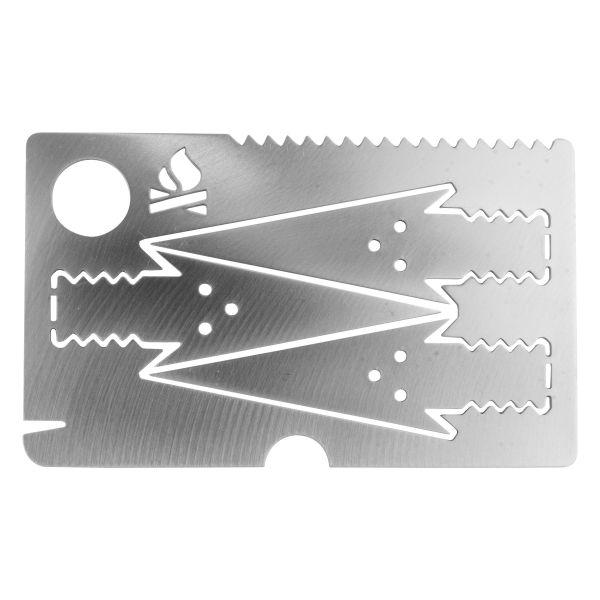 Survival-Pfeilkarte Bushcraft Essentials