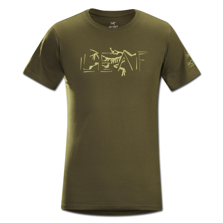 T-Shirt Arcteryx Fragmentum dark moss