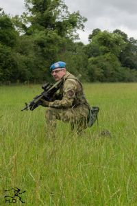 UN Beret field