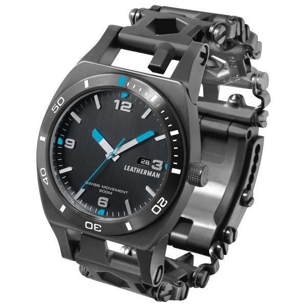 Leatherman Multi Tool Uhr Tread Tempo schwarz