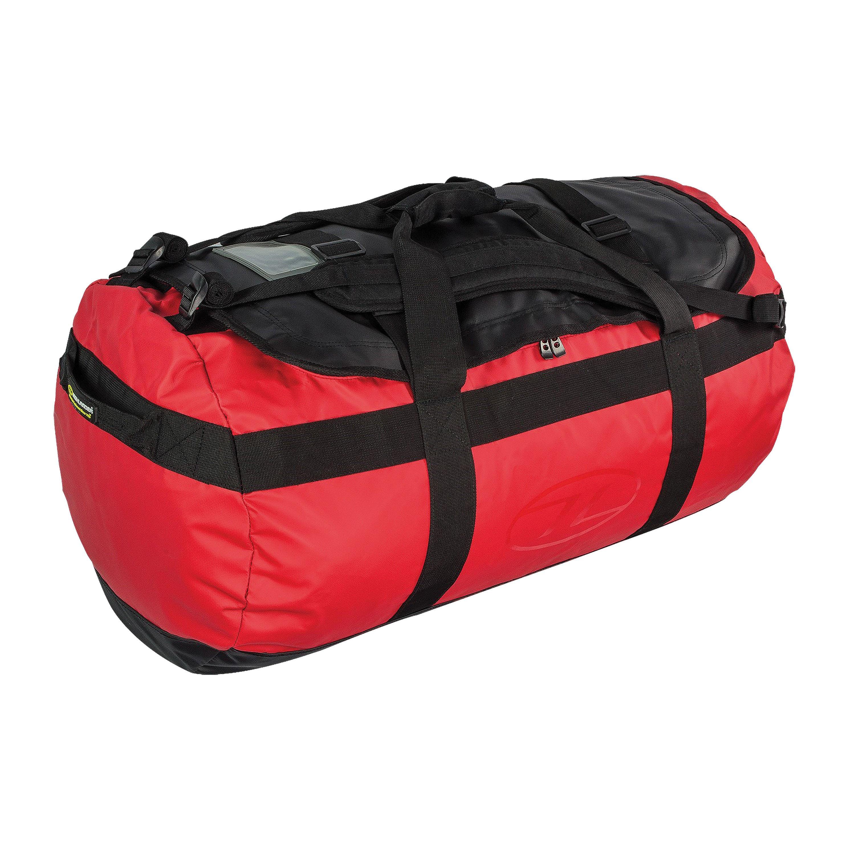 Highlander See/Packtasche spritzwassergeschützt rot 90L