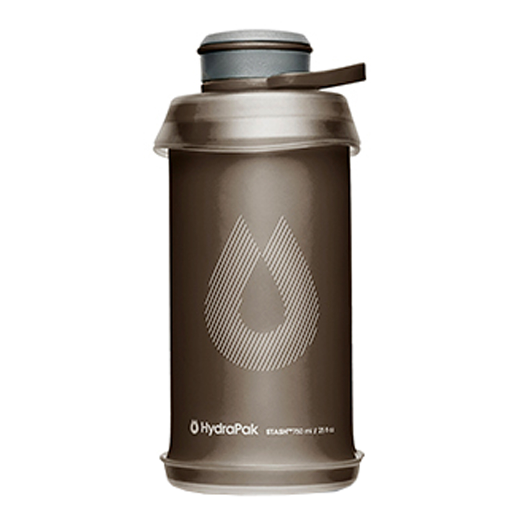 HydraPak Faltflasche Stash 750 ml mammoth grey