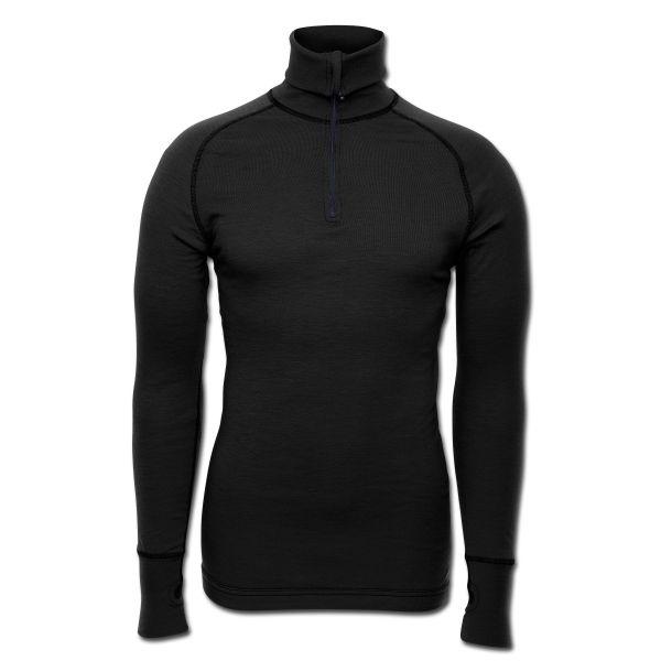 Brynje Zip-Poloshirt Arctic schwarz