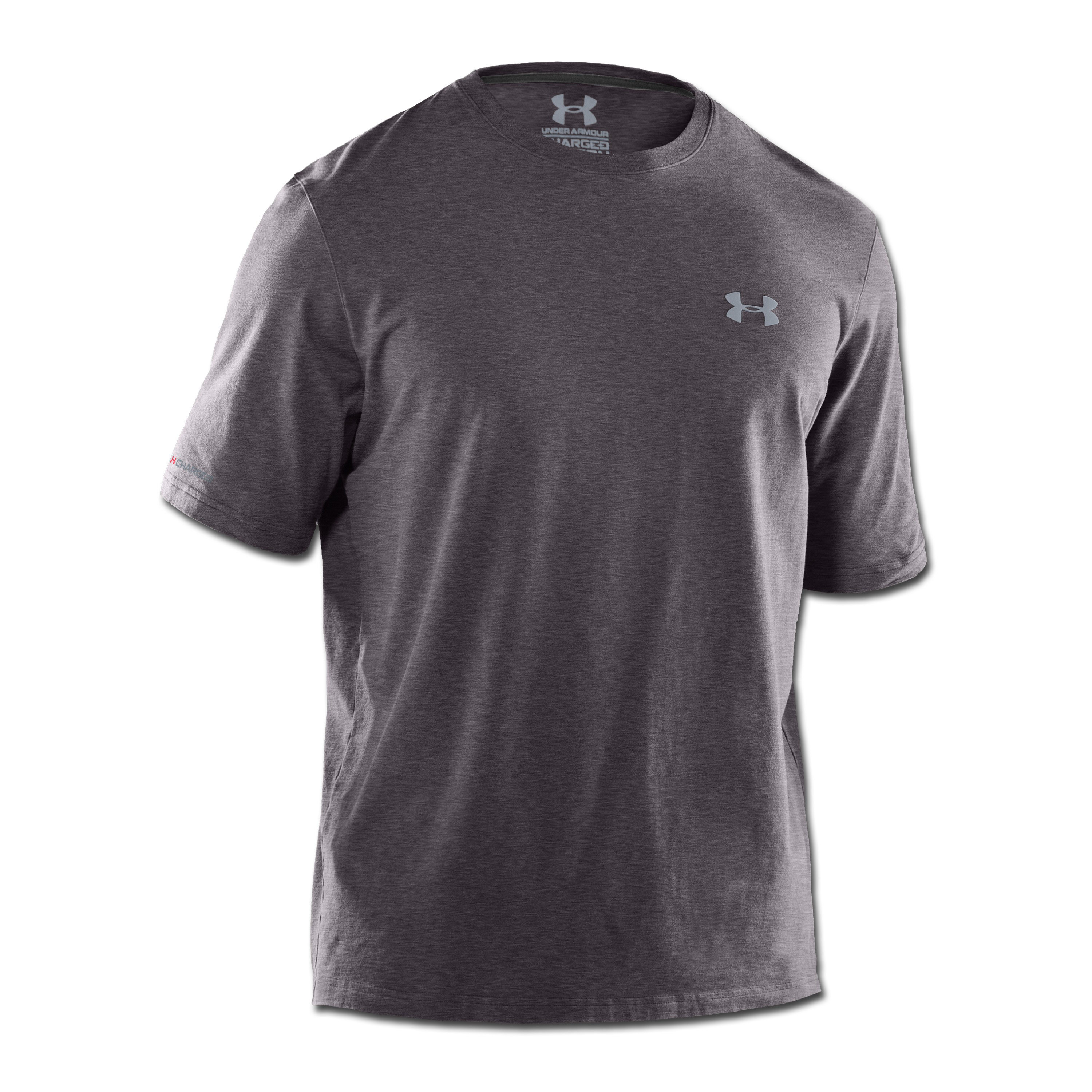 Under Armour HeatGear T-Shirt Charged Cotton anthrazit
