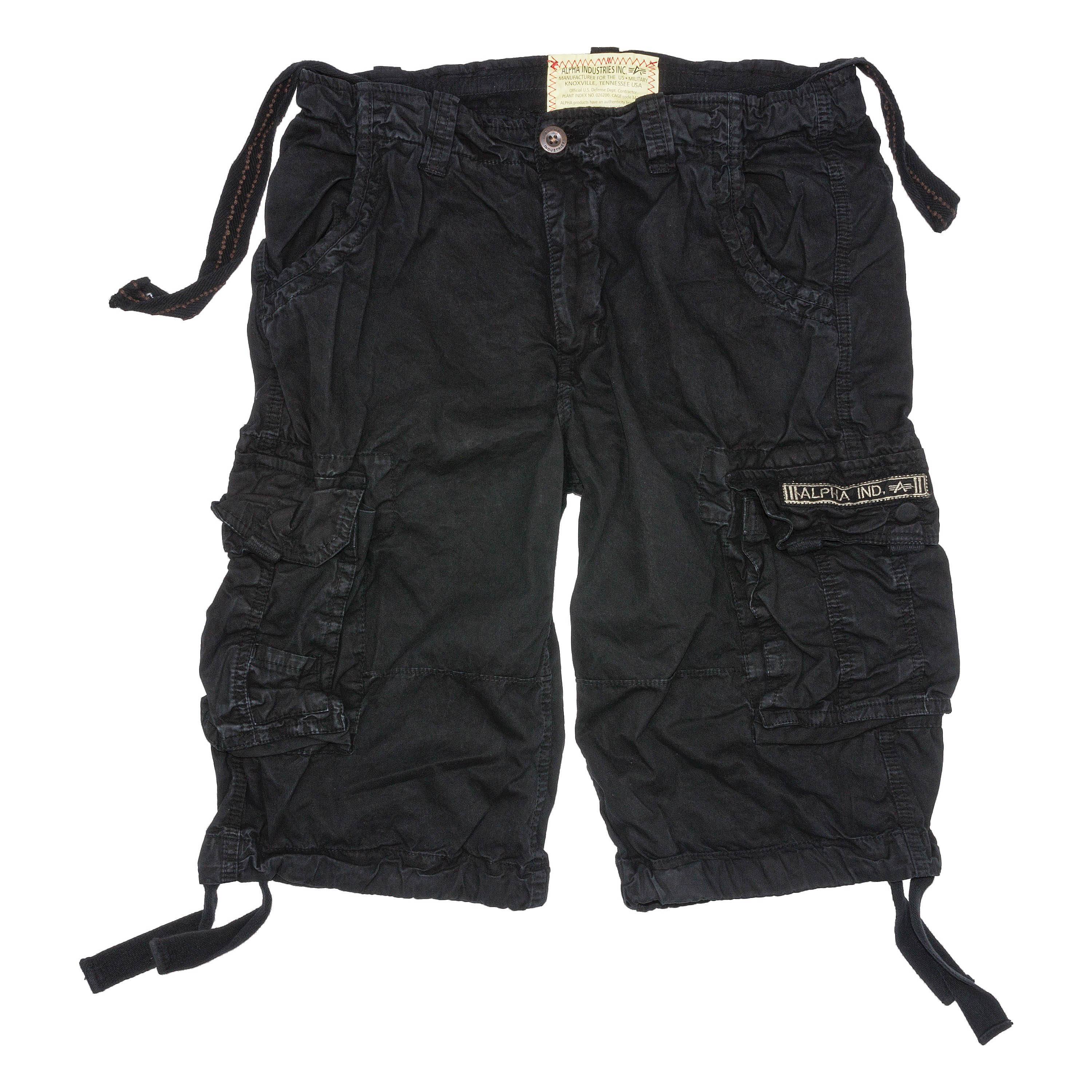 Shorts Alpha Industries Jet schwarz