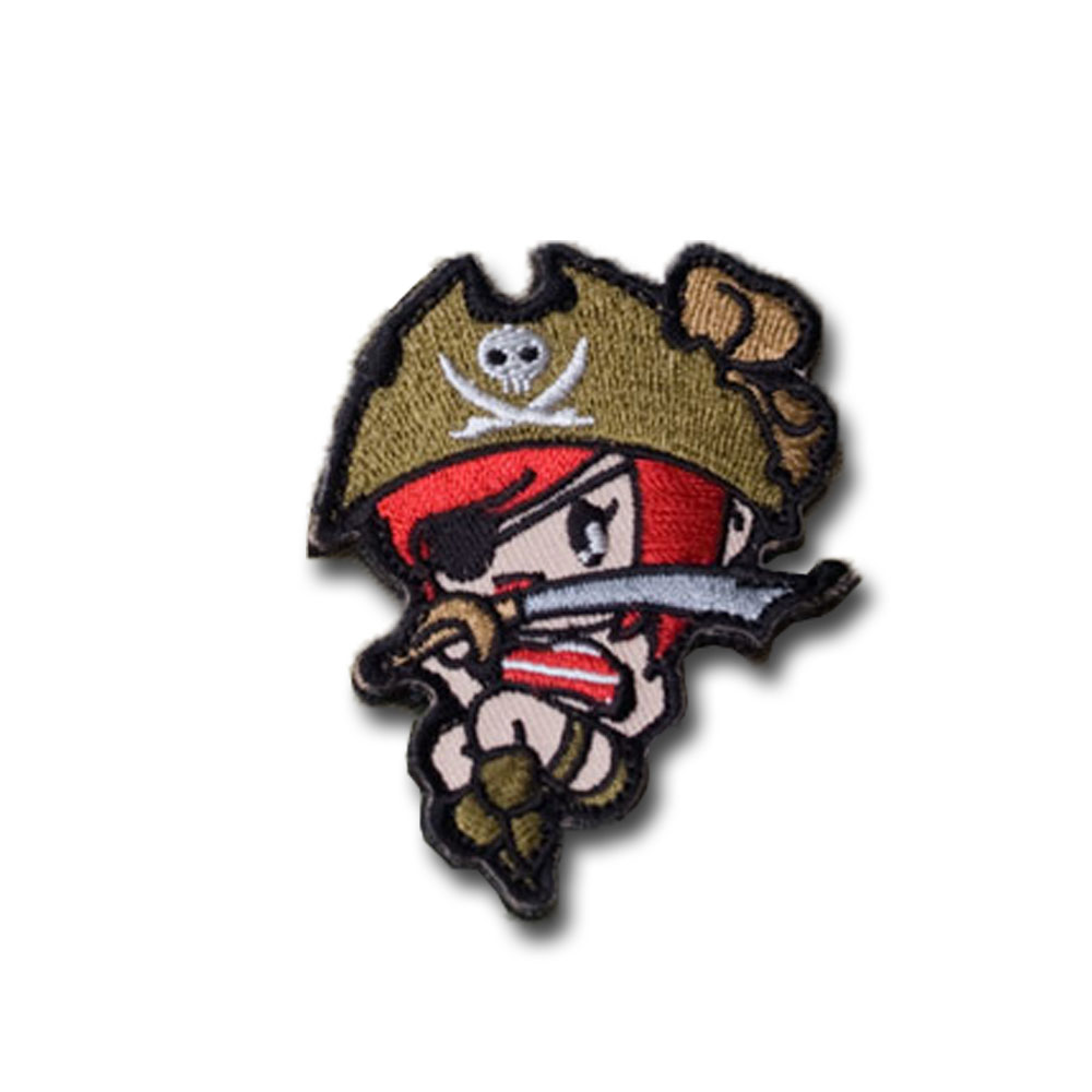 MilSpecMonkey Patch Pirate Girl high contrast