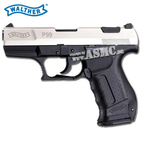 Pistole Softair Walther P99 bicolor 0.5 J