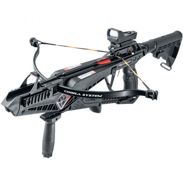 EK Archery Pistolenarmbrust X-Bow Cobra Set schwarz