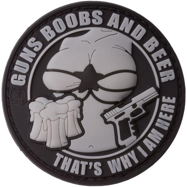 JTG 3D Patch Guns Boobs and Beer