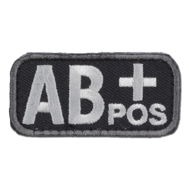 MilSpecMonkey Patch Blutgruppe AB Pos swat