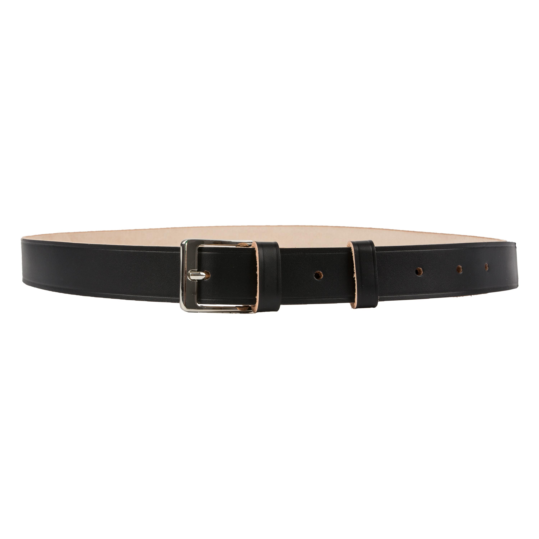Heim Gürtel 30 mm breit narbenseitig schwarz