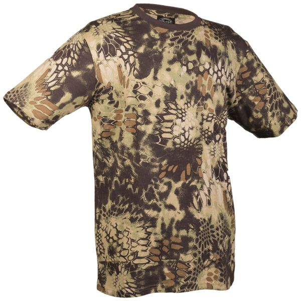 T-Shirt Tarn mandra wood
