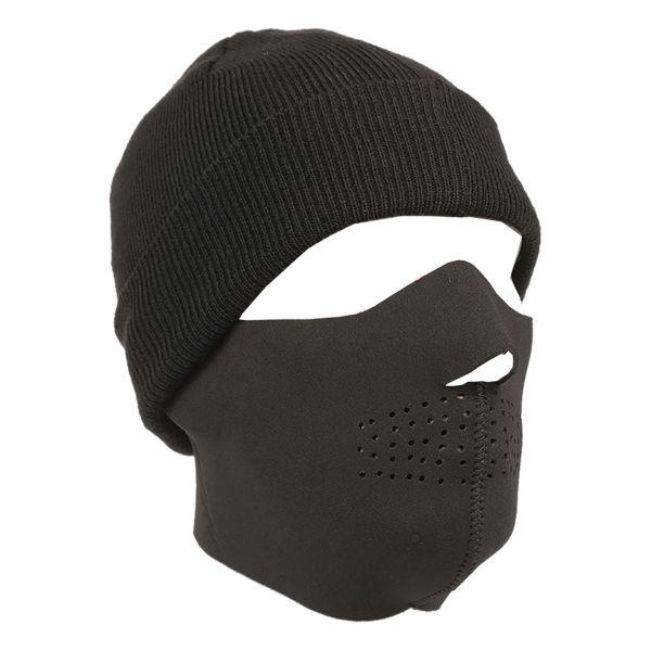 Neopren Gesichtsschutz schwarz