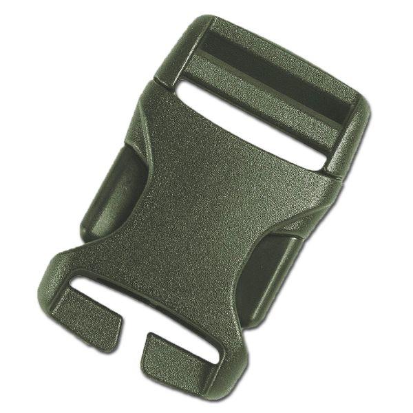 Steckschnalle TT oliv II 25 mm