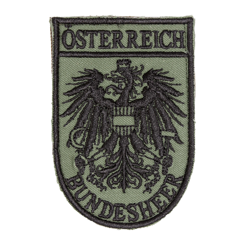 Abzeichen Bundesheer Stoff mit Klett