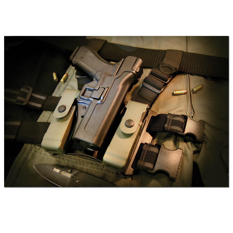 Blackhawk Schnellziehholster H&K P8/USP schwarz rechts
