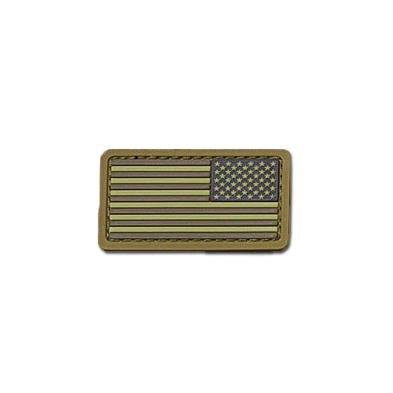 MilSpecMonkey Patch US Flag Mini REV PVC desert