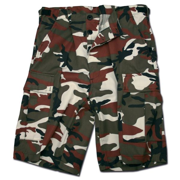 BDU Shorts redcamo