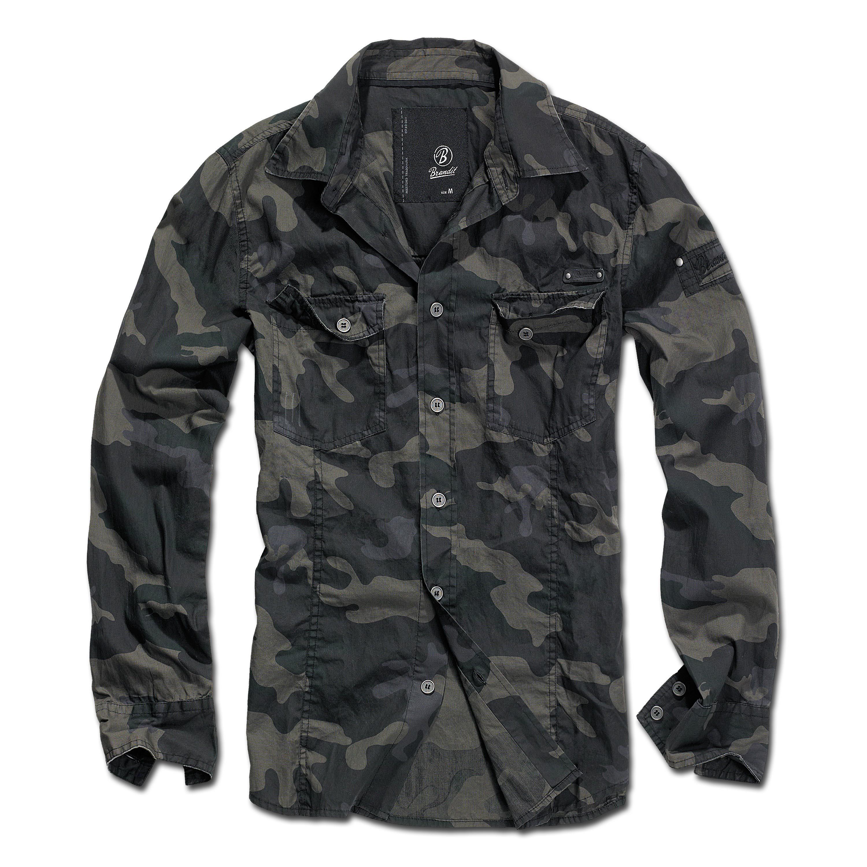 Brandit Shirt SlimFit darkcamo