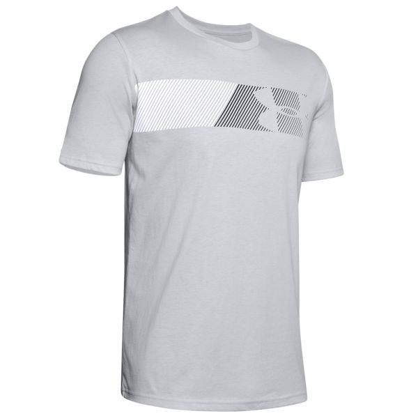 Under Armour Shirt Fast Left Chest 2.0 SS halo gray