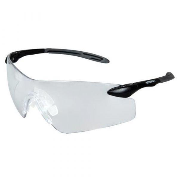 Pyramex Schutzbrille Intrepid II Clear Glasses schwarz