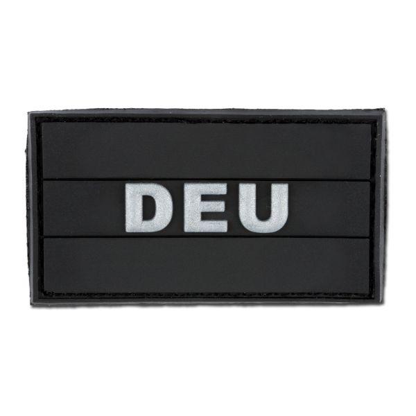 3D-Patch DEU schwarz
