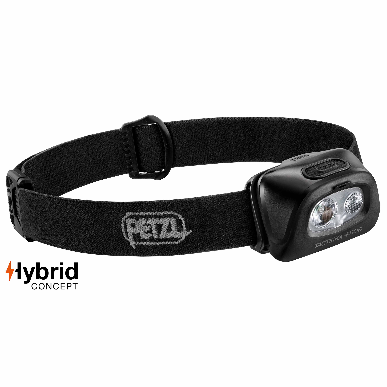 Petzl Stirnlampe Tactikka +RGB schwarz