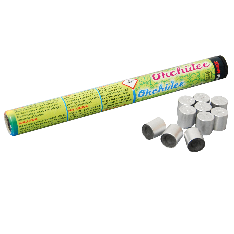 Zink Feuerwerk Orchidee Signalsterne 15 mm 10 Stück