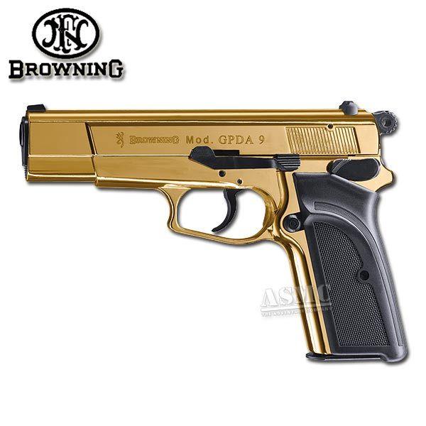 Pistole Browning GPDA9 gold