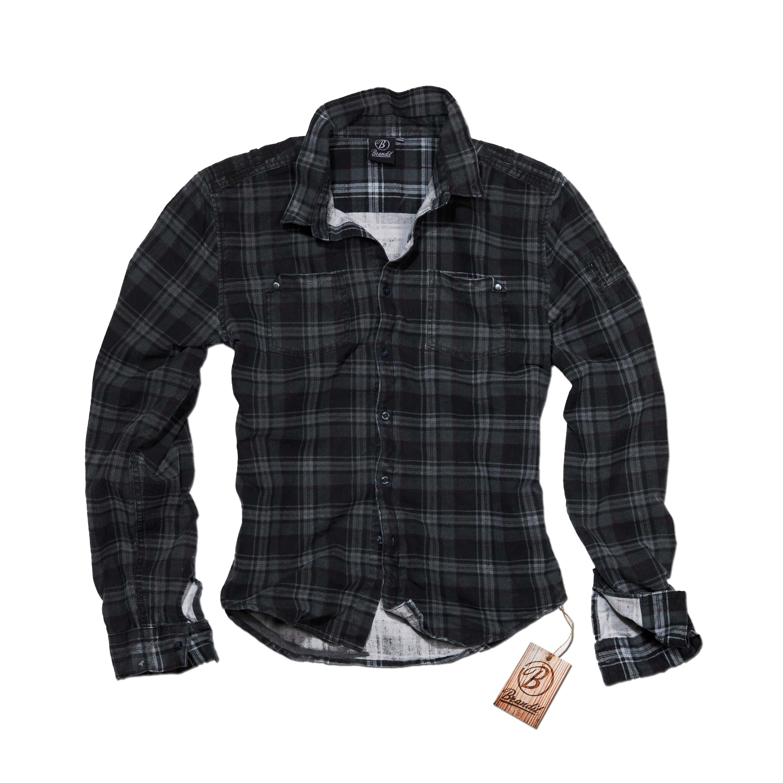 Brandit Wire Shirt Darkgrey
