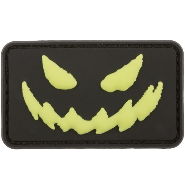 3D Patch Bad Smile nachleuchtend invers