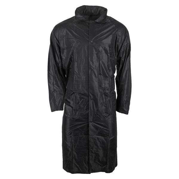 Regenmantel Polyester schwarz