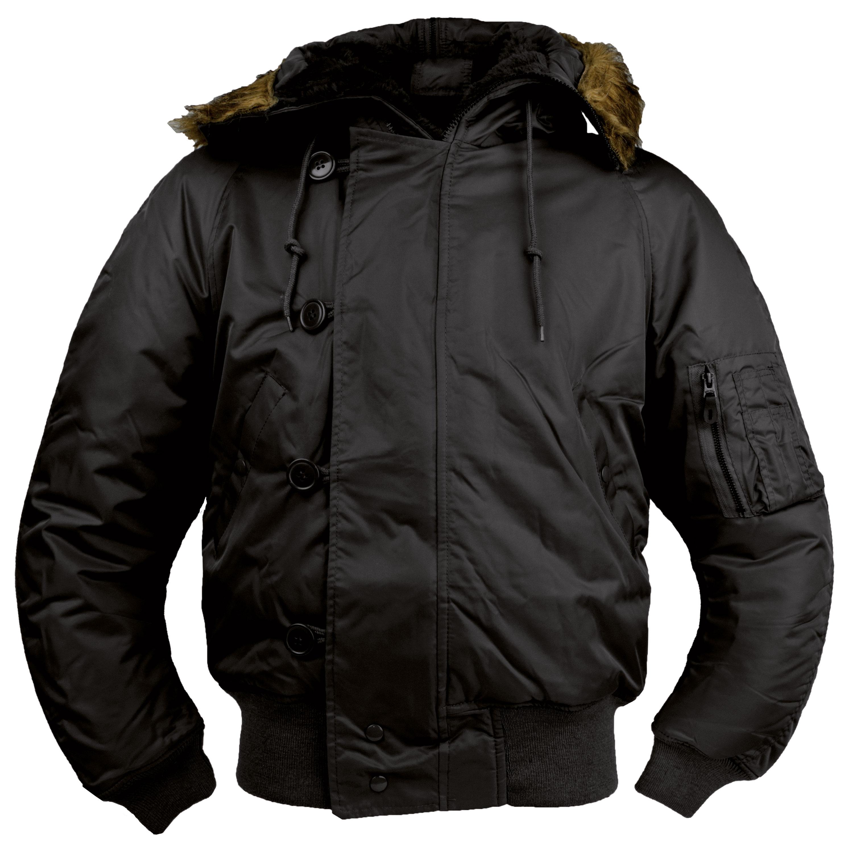 N2B Jacke Style schwarz