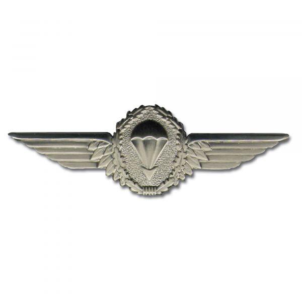Abzeichen BW Fallschirmspringer silber Metall