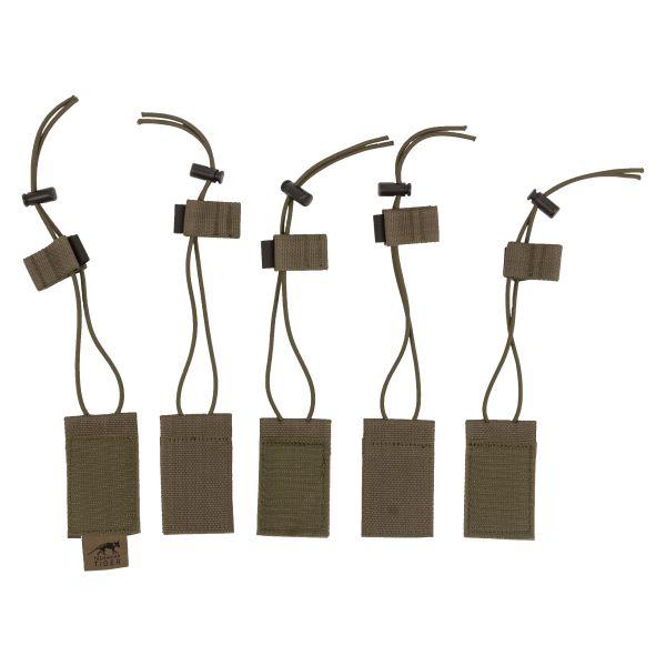 TT Verschlusslaschen Set oliv