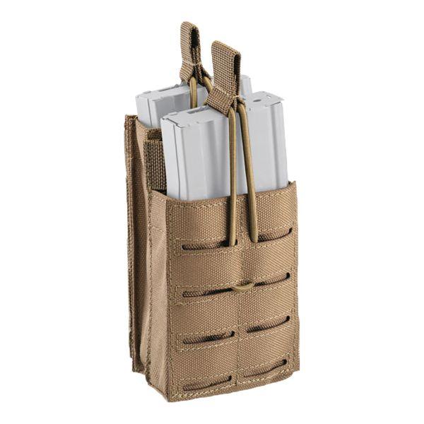 Defcon 5 Split Magazintasche Shadow Laser Cut coyote