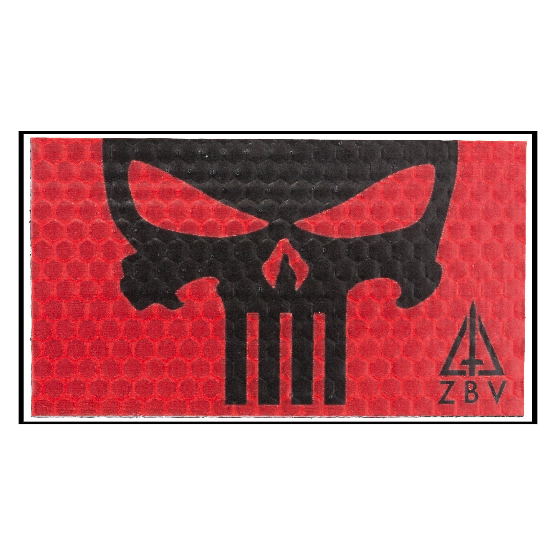 Reflektierender Patch Red Punisher