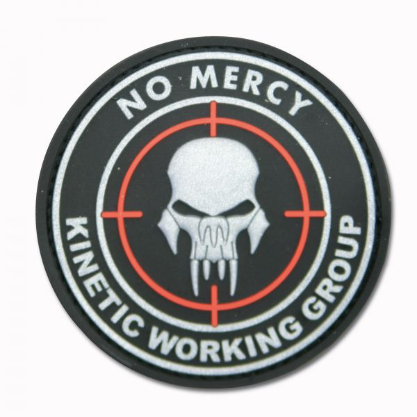 3D-Patch NO MERCY - KINETIC WORKING GROUP schwarz