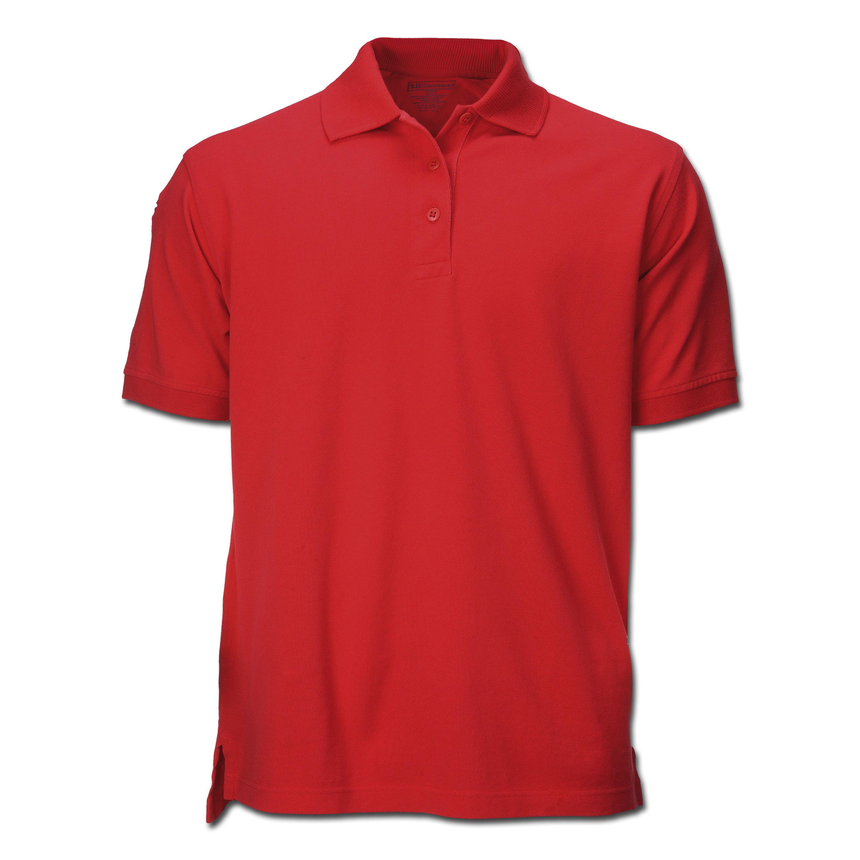 5.11 Polohemd Professional Kurzarm rot