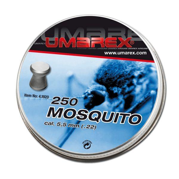 Umarex Diabolos Mosquito Flachkopf 5.5 mm 5 X 250 St.