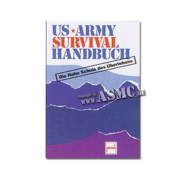 Buch US Army Survival Handbuch