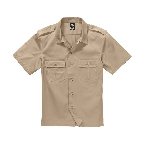 Brandit Shirt US halbarm camel