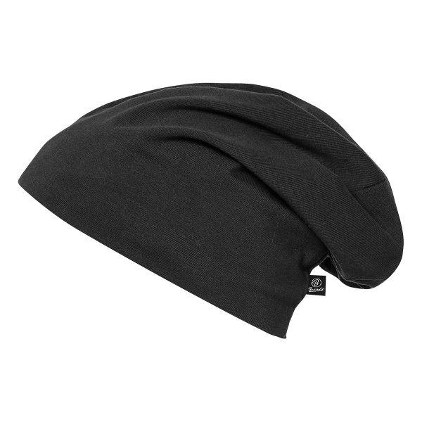 Brandit Beanie Jersey schwarz