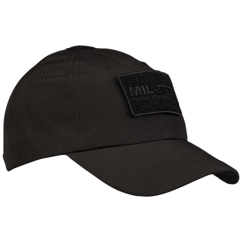 Baseball Cap Softshell schwarz