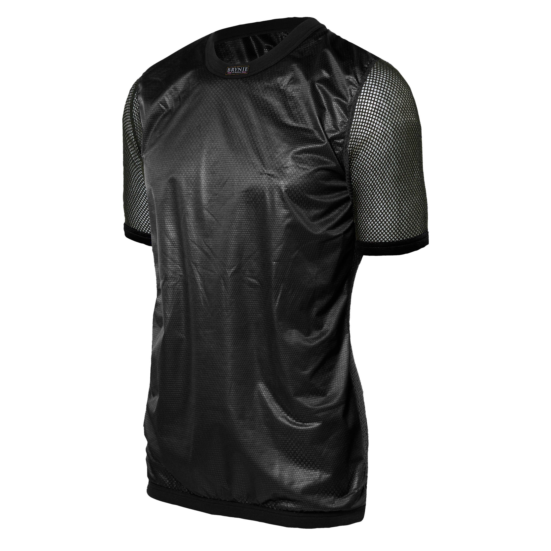 Brynje T-Shirt Super Thermo mit Windstopper schwarz